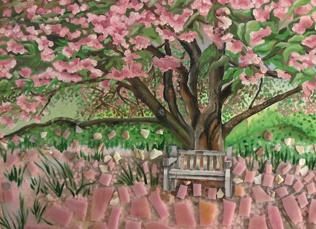 Flowering Tree for Cheryl by Kelly Puent